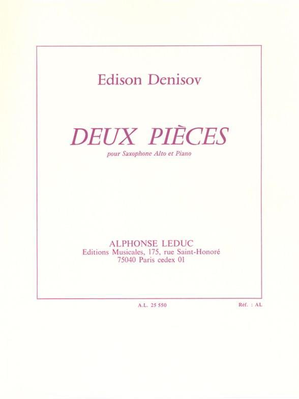 2 pièces: pour saxophone alto et piano