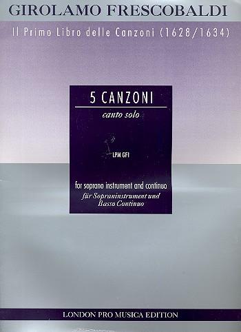 Frescobaldi, Girolamo Alessandro - 5 Canzonas :
