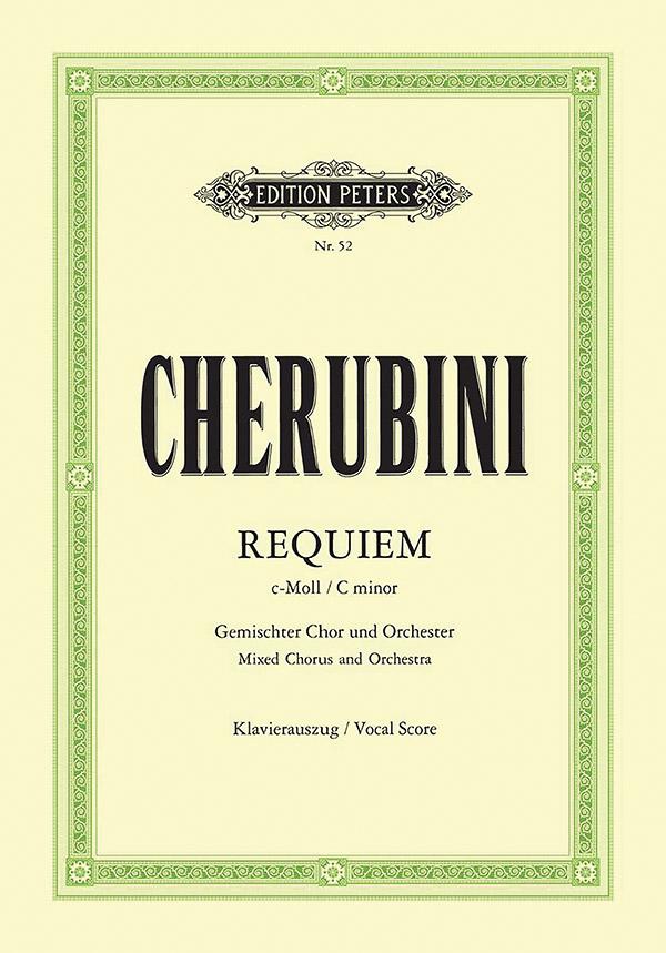 Cherubini, Luigi - Requiem c-Moll : für