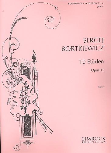 10 Etüden opus.15: für Klavier