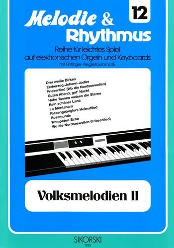 Volksmelodien Band 2: für E-Orgel/Keyboard