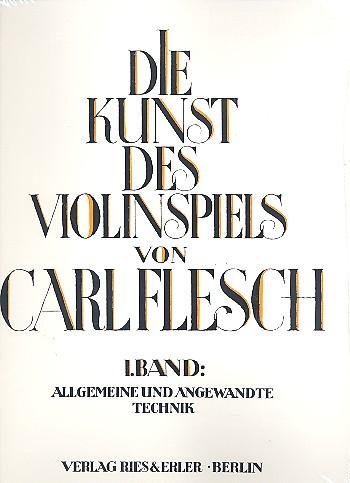 Die Kunst des Violinspiels Band 1