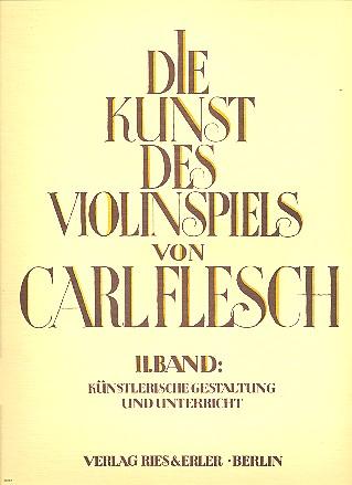 Die Kunst des Violinspiels Band 2