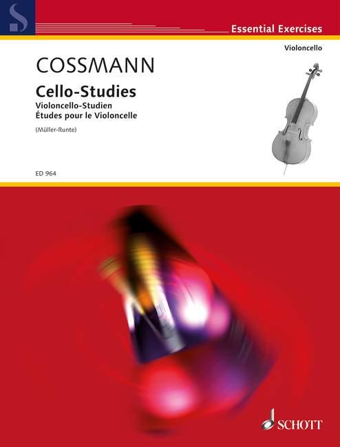 Cossmann, Bernhard - Violoncello-Studien für die