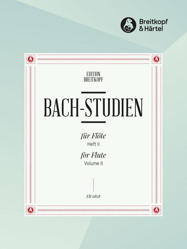Bach, Johann Sebastian - 24 Bachstudien Band 2 (Nr.13-24 ) :