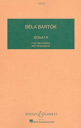 Sonata: for 2 pianos and percussion