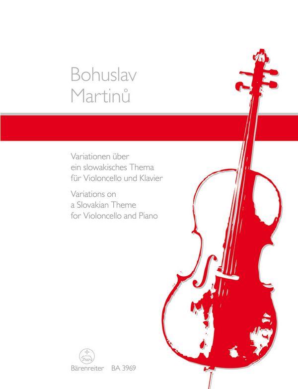Martinu, Bohuslav - Variationen über ein slowakisches