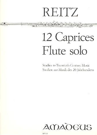 12 Caprices opus.4: für Flöte solo