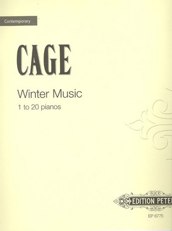 Winter Music: to be performed in whole or part by 1 to 20 pianists