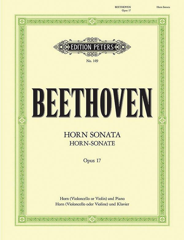 Beethoven, Ludwig van - Sonate F-Dur op.17 : für Horn