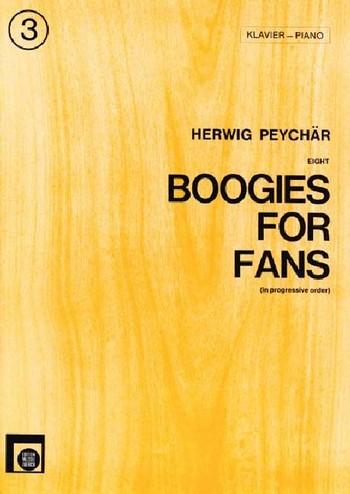 Boogies for Fans Band 3: für Klavier