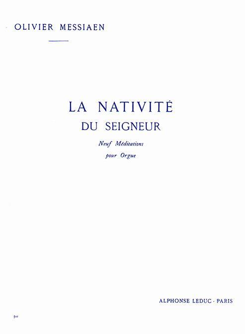 Messiaen, Olivier - La nativité du Seigneur vol.1 :