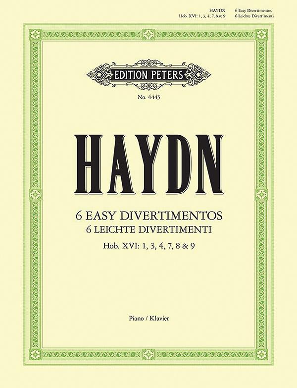 Haydn, Franz Joseph - 6 leichte Divertimenti :