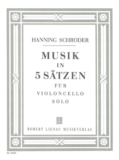 Schröder, Hanning - Musik in 5 Sätzen : für