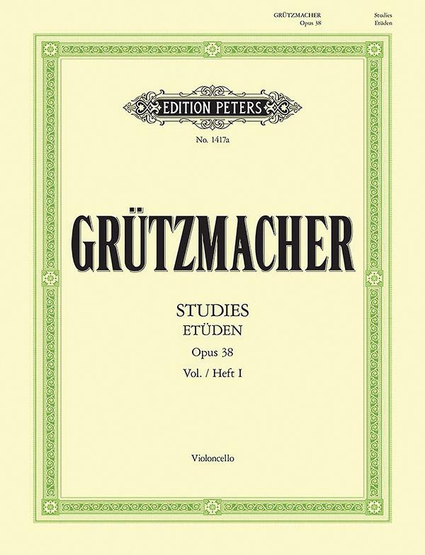 Grützmacher, Friedrich - Etüden op. 38 Band 1: