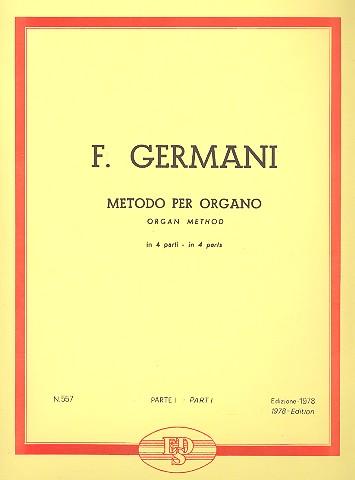 Germani, Fernando - Metodo per organo vol.1