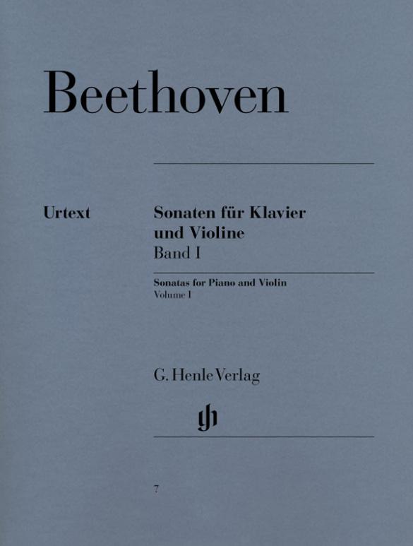 Beethoven, Ludwig van - Sonaten Band 1 : für Violine