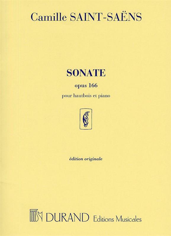 Saint-Saens, Camille - Sonate op.166 : pour hautbois