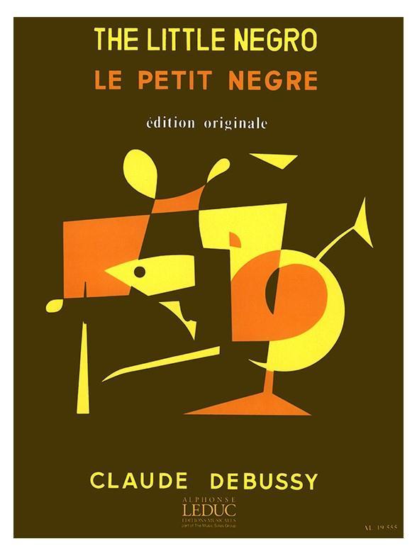 Debussy, Claude - Le petit negre : pour saxophone alto