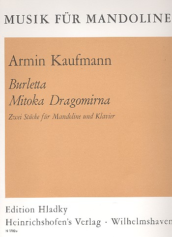 2 Stücke: für Mandoline und Klavier