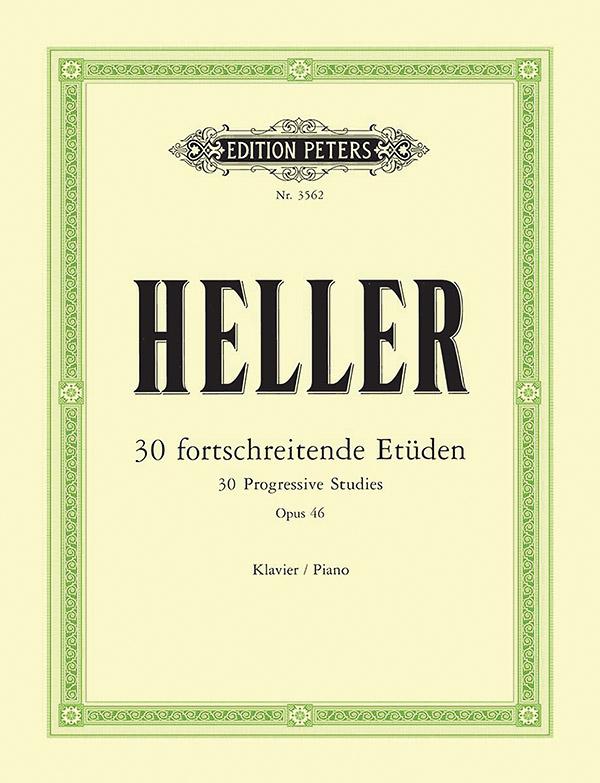 30 fortschreitende Etüden opus.46: für Klavier