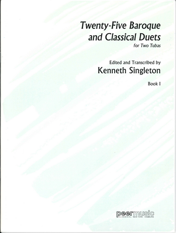 Singleton, Kenneth - 25 baroque and classical Duets vol.1 :