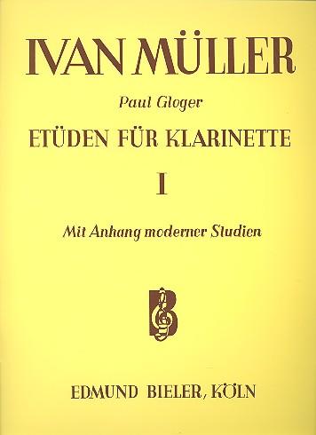 Müller, Iwan - Etüden Band 1 : für Klarinette