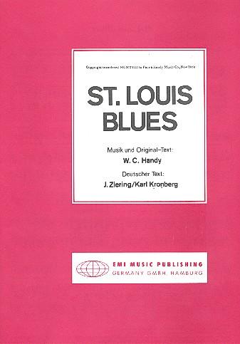 St. Louis Blues: Einzelausgabe Gesang und Klavier (dt/en)