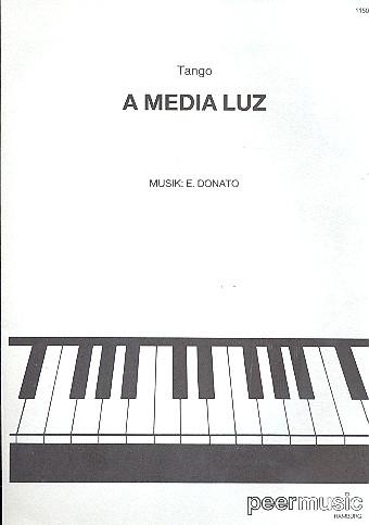 A media luz: Einzelausgabe für Klavier