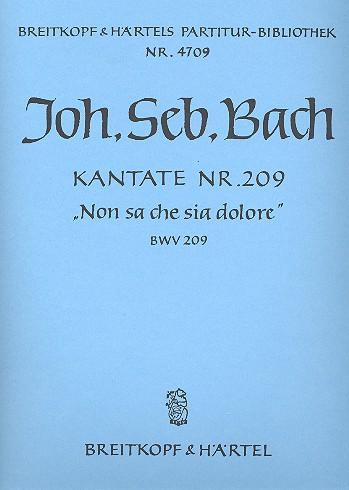 Bach, Johann Sebastian - Non sa che sia dolore :