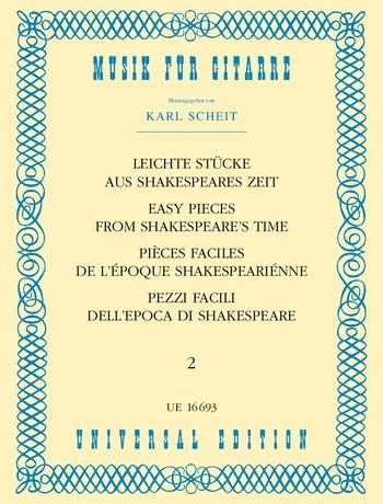 - Leichte Stücke aus Shakespeares