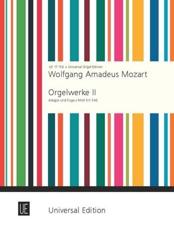 Adagio und Fuge c-moll KV546 Orgelwerke Band 2