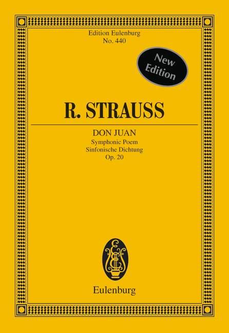Strauss, Richard - Don Juan op.20 : für Orchester