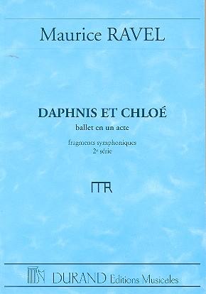 Daphnis et Chloé suite no.2: pour orchestre