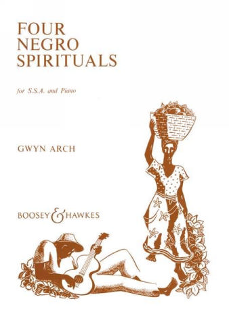 4 negro spirituals: for ssa choir and piano
