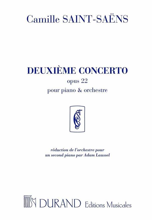 Saint-Saens, Camille - Concerto no.2 op.22 pour piano