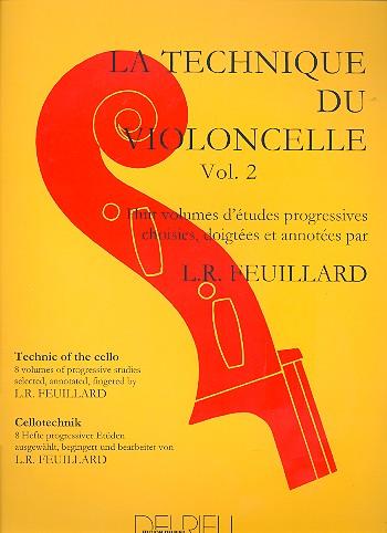 Feuillard, Louis R. - La technique du violoncelle vol.2