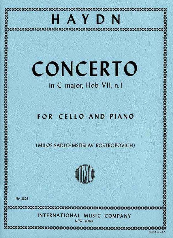 Haydn, Franz Joseph - Concerto C major Hob.VIIb:1