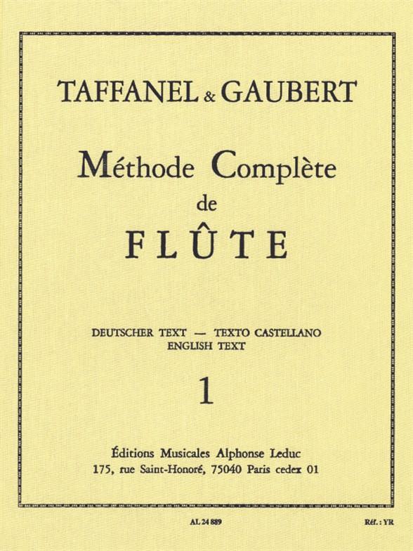 Methode complete de flute vol. 1 Cartonne (fr/dt/en/sp)