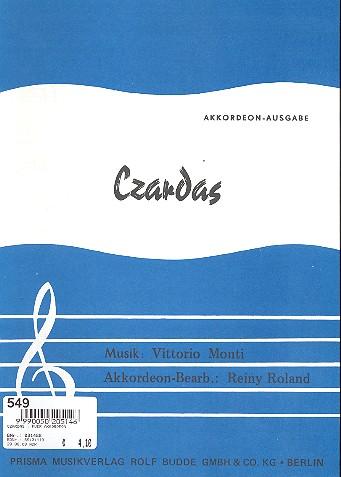Czardas: für Akkordeon