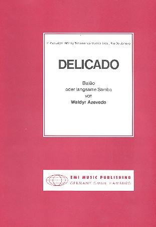 Delicado: Einzelausgabe für Klavier