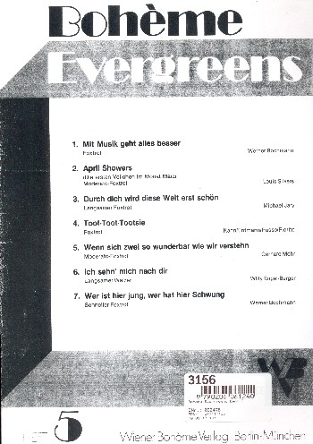 Boheme Evergreens Band 5