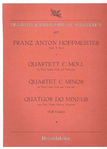 Hoffmeister, Franz Anton - Quartett c-Moll op.16,2 : für