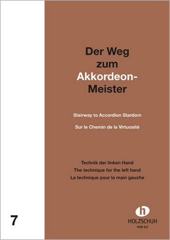 Holzschuh, Alfons - Der Weg zum Akkordeon-Meister