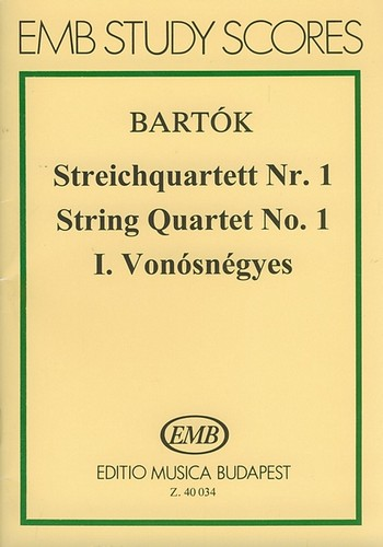 Bartók, Béla - Streichquartett Nr.1 op.7 :