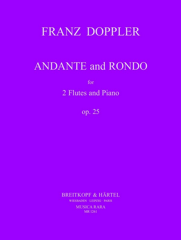 Doppler, Albert Franz - Andante and rondo op.25 :