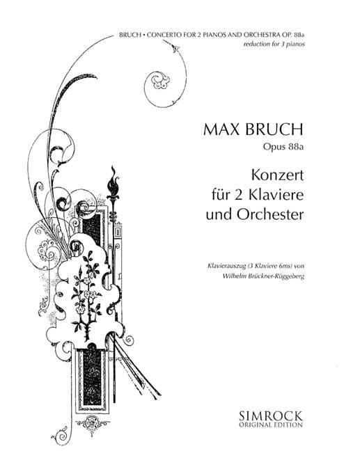 Konzert opus.88a für 2 Klaviere und Orchester: für 3 Klaviere
