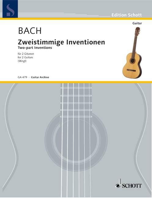 Bach, Johann Sebastian - Sämtliche zweistimmigen Inventionen
