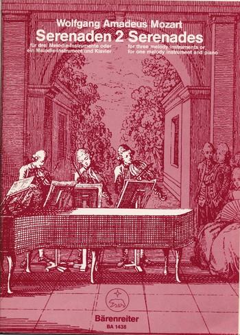 Mozart, Wolfgang Amadeus - Serenade C-Dur Nr.2 nach KV439b :