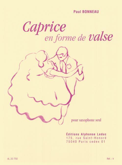Bonneau, Paul - Caprice en forme de valse